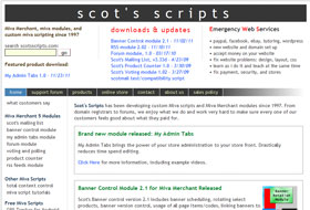 Scot's Scripts: Miva Modules and Scripting